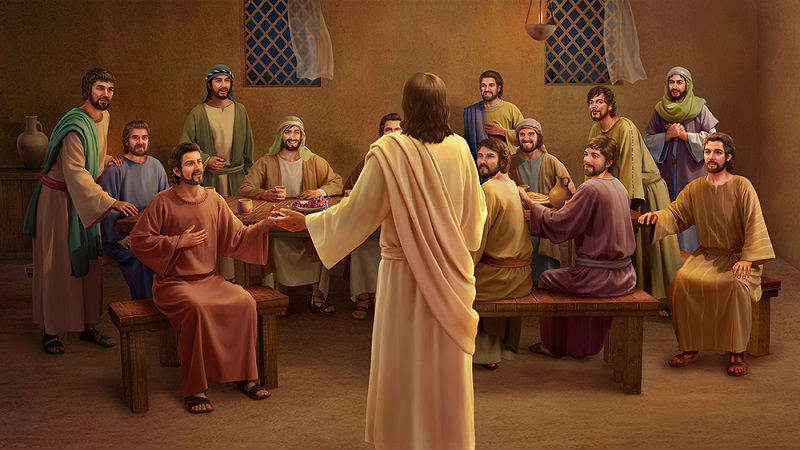 The-resurrected-Lord-Jesus-appears-to-the-disciples-2