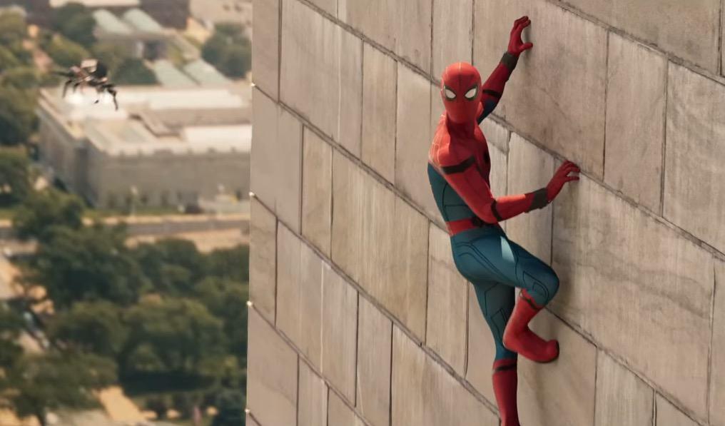 spiderman wall