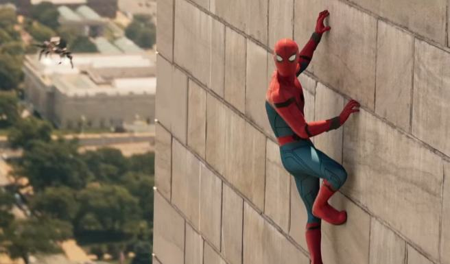 spiderman wall